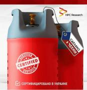 Composite gas cylinder 24.5 l Czech Republic