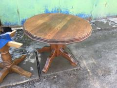 Furniture from Europe , the sofas leather used, tables wood, cheap parts