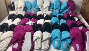 Lot 03-0317, ESMARA Slippers, weight 8.5 kg (39 pairs) price 2890 UAH (09