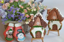 Master class on painting gingerbread in the Studio SAKE-ART