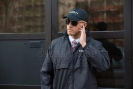 Required security guards work in shifts a day or two. Kharkov