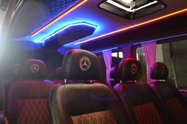 Сидіння для автобусів Crafter Volkswagen LT Mercedes-Benz Sprint