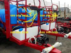 The quality of the Polish sprayer OP-200018 trailer +troina