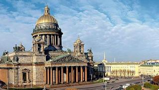Tours to St. Petersburg from Kiev